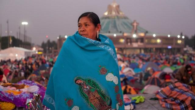 Foto: Desde muy temprano llegan los peregrinos a la Basílica de Guadalupe, 12 diciembre 2018
