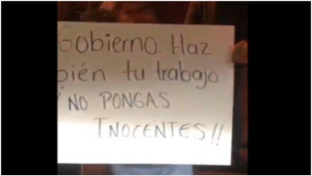 Foto: Realizan bloqueos en defensa de los detenidos por el caso LeBarón, 3 de diciembre de 2019 (Foro TV)