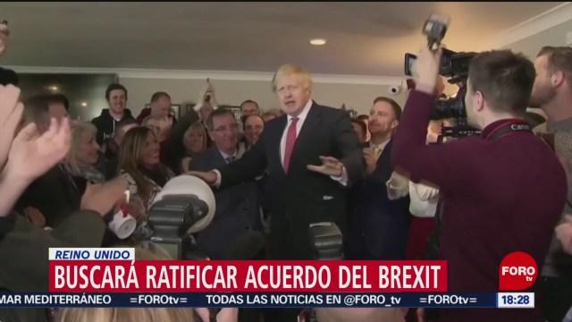 FOTO: Boris Johnson Busca Ratificar Brexit Próximas Seis Semanas