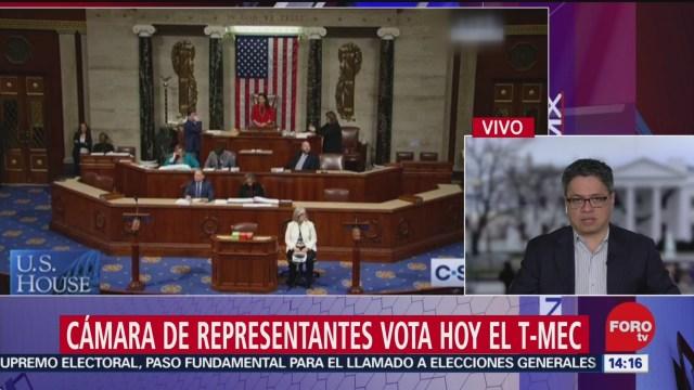 FOTO: camara de representantes de eeuu vota hoy el t mec