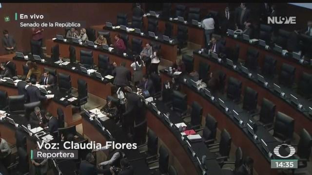 FOTO: Camiones Senado Analizan Protocolo Modificatorio T-MEC,
