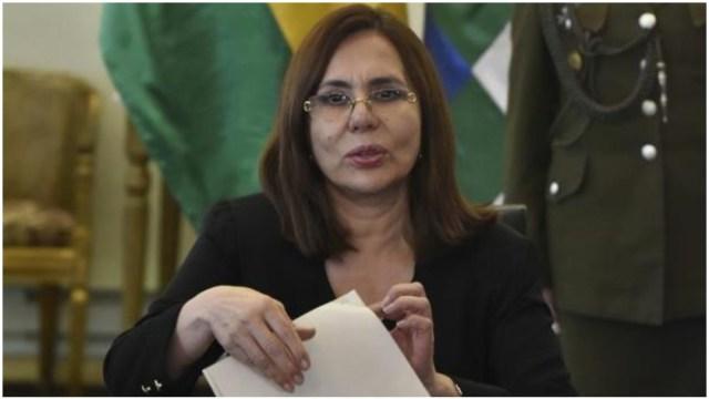 Imagen: Canciller le pide a AMLO mantenerse al margen de la situación que se vive en su país, 28 de diciembre de 2019 (EFE)