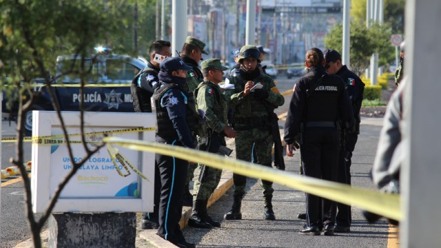 Asesinato de un comandante en Celaya, Guanajuato. (ALEJANDRO ROJAS /CUARTOSCURO, ARCHIVO)