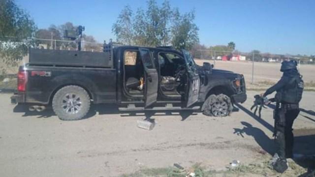 Imagen: Un grupo de hombres armados atacaron a tiros a policías municipales de Frontera, en la agresión un agente resultó herido; además, los delincuentes incendiaron dos vehículos, uno en Frontera y otro en el municipio de Monclova