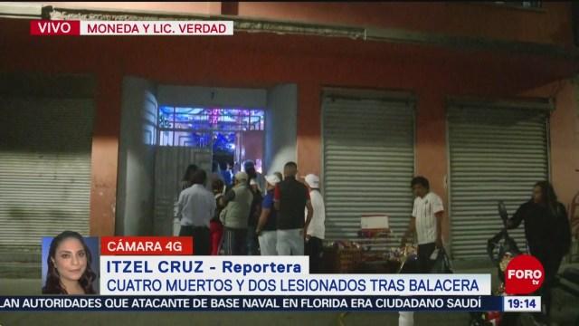 Continúa movilización policíaca en el Centro Histórico de la CDMX