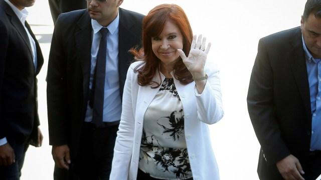 FOTO Cristina Fernández declara ante tribunal por presunta corrupción (EFE)