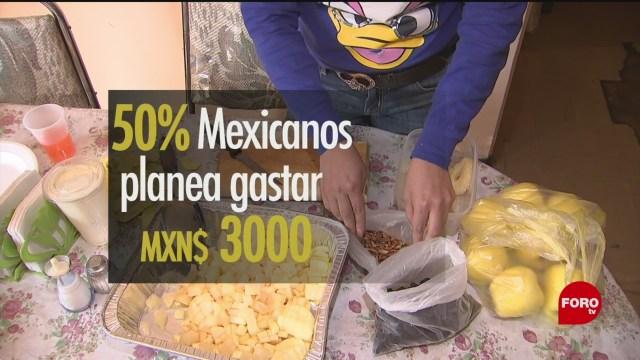 Foto: cuanto gastamos los mexicanos para la cena de ano nuevo