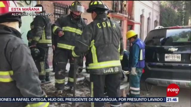Foto: Desalojan Estancia Infantil Fuga Cuauhtémoc CDMX Hoy 12 Diciembre 2019