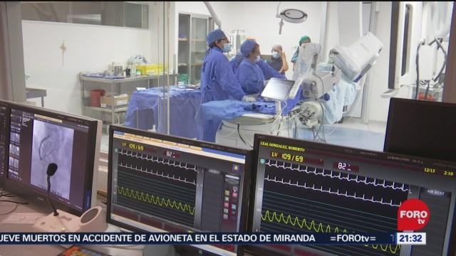Foto: Desarrollan Cirugía Corazón Sin Abrir Paciente 20 Diciembre 2019