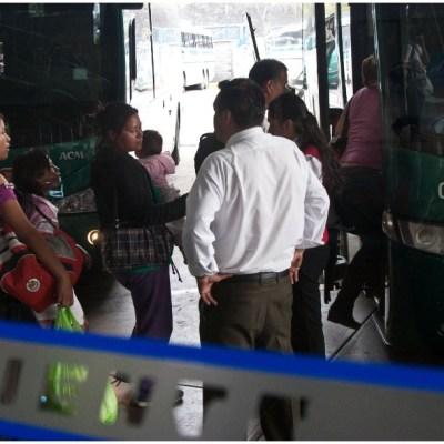 Imagen. La policía detuvo a un sujeto con tres mil cartuchos en terminal de autobuses, 14 de diciembre de 2019 (MISAEL VALTIERRA/CUARTOSCURO.COM)