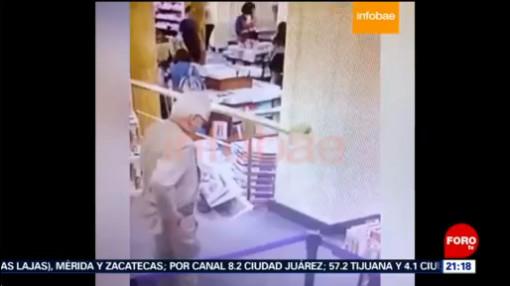 FOTO: Detienen y sueltan al embajador de México en Argentina tras robar libro, 8 diciembre 2019