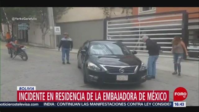 Foto: Diplomáticos Españoles Entrar Clandestinamente Embajada México 27 Diciembre 2019