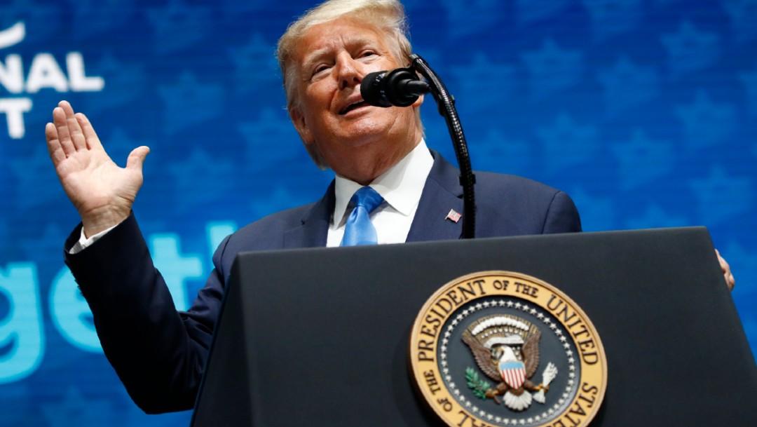 Foto: El presidente de Estados Unidos, Donald Trump, 8 diciembre 2019