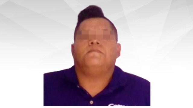 Foto: Hombre detenido por abusar sexualmente de bebé, 14 de diciembre de 2019 (Fiscalía de Morales)