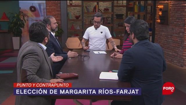 Foto: Elección Ministra Scjn Ana Margarita Ríos-Farjat 9 Diciembre 2019