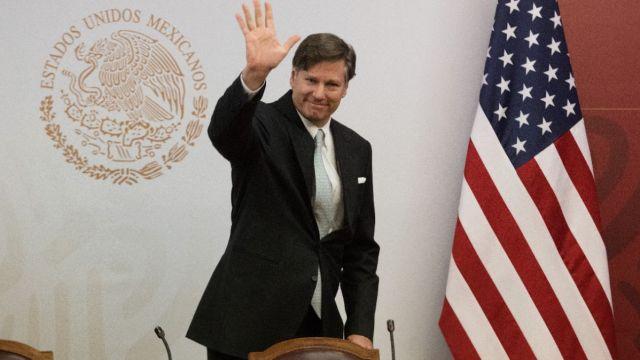 Foto: El embajador de Estados Unidos en México, Christopher Landau.