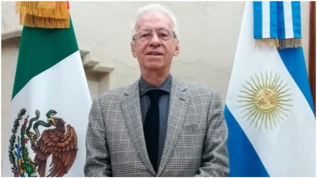 Imagen: Óscar Ricardo Valerio Recio tuvo un incidente en librería de Argentina, 8 de diciembre de 2019 (Twitter)