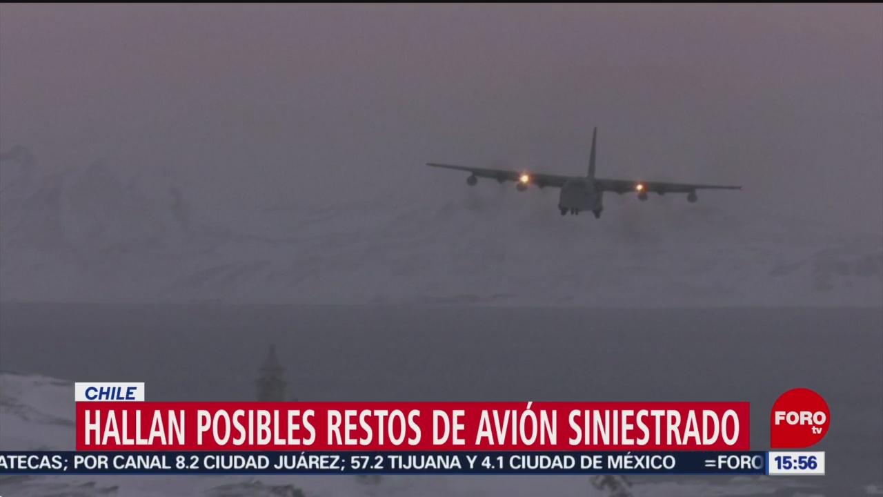 FOTO: Encuentran Posibles Restos Avión Militar Chileno Desaparecido
