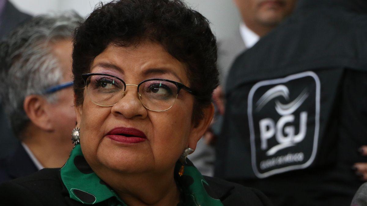Ernestina Godoy, procuradora de la CDMX.