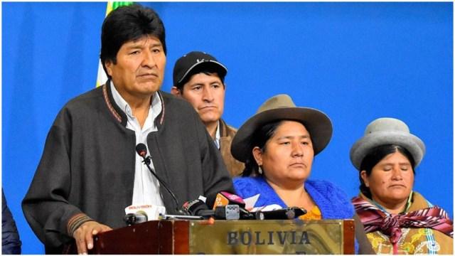 Imagen: Presidenta de Bolivia asegura que se emitiría orden de aprehensión contra Evo Morales, 14 de diciembre de 2019 (EFE)