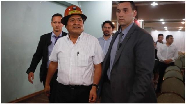 Foto: Evo Morales acusa posible fraude electoral en próximas elecciones, 29 de diciembre de 2019 (EFE)