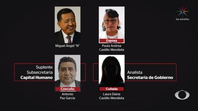 Exfuncionario de Mancera empleó 10 familiares gobierno CDMX