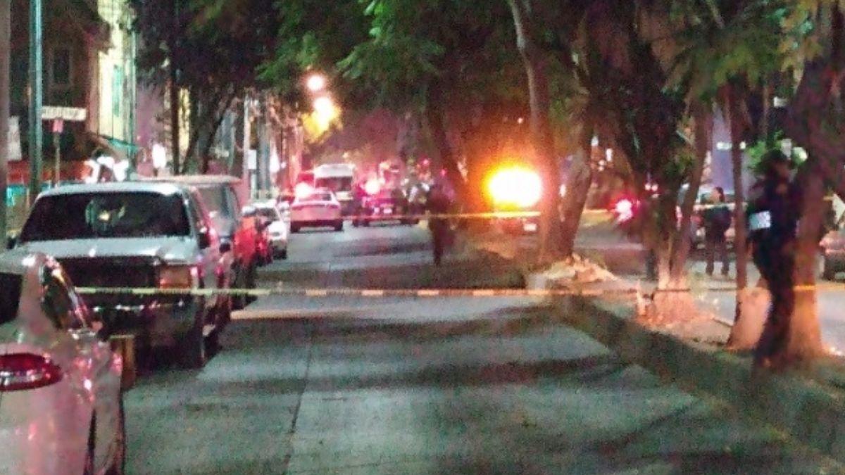 Foto: Policías de la Ciudad de México acordonaron las calles del ataque.