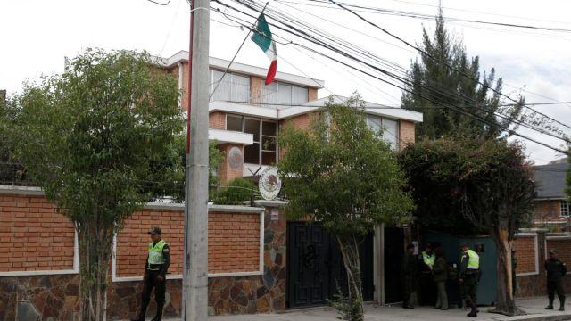 Foto: Embajada de México en La Paz, Bolivia. Reuters