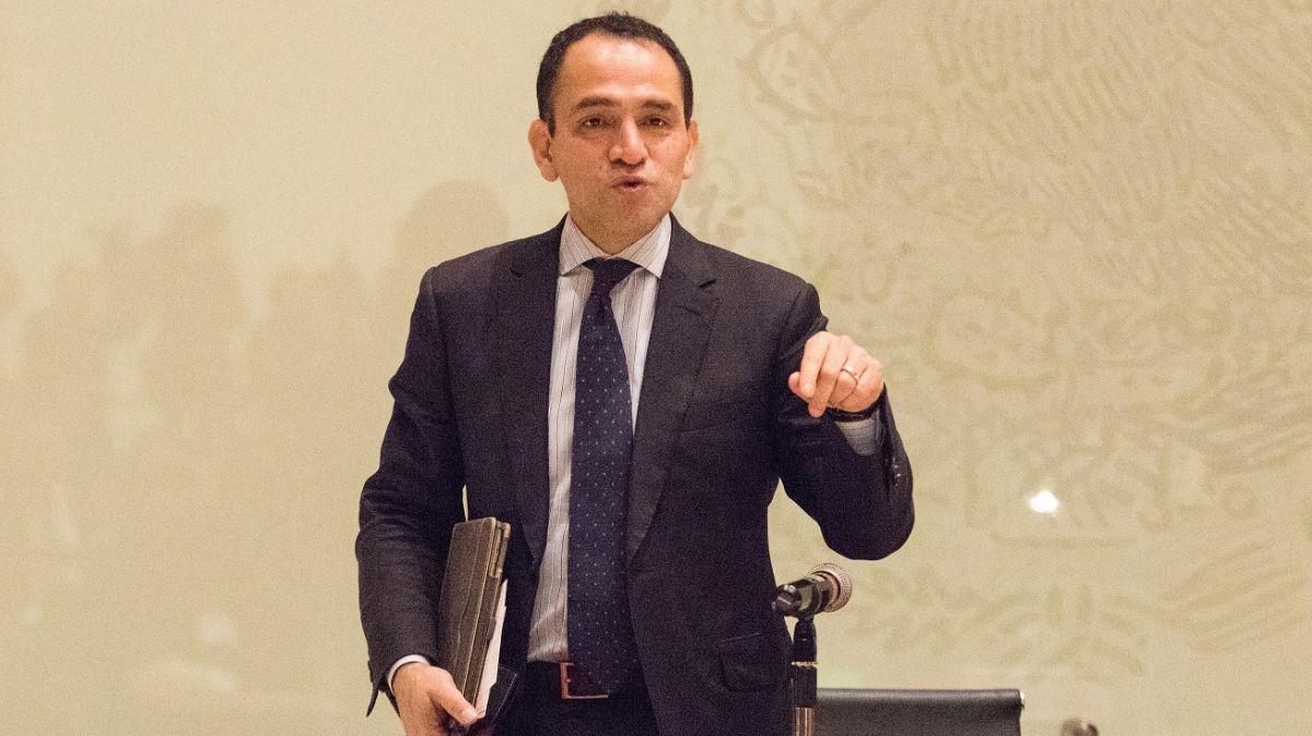 Foto: Arturo Herrera, titular de la Secretaría de Hacienda. Cuartoscuro