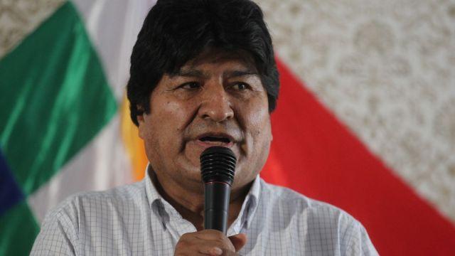 Foto: Evo Morales, expresidente de Bolivia. Efe