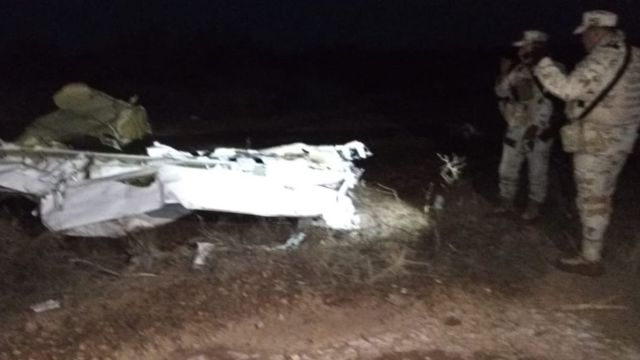 Localizan avioneta desaparecida en Hermosillo.