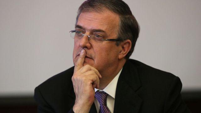 Foto: Marcelo Ebrard, secretario de Relaciones Exteriores de México. Reuters