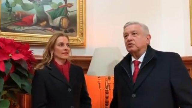 El presidente López Obrador envió un mensaje Navideño.