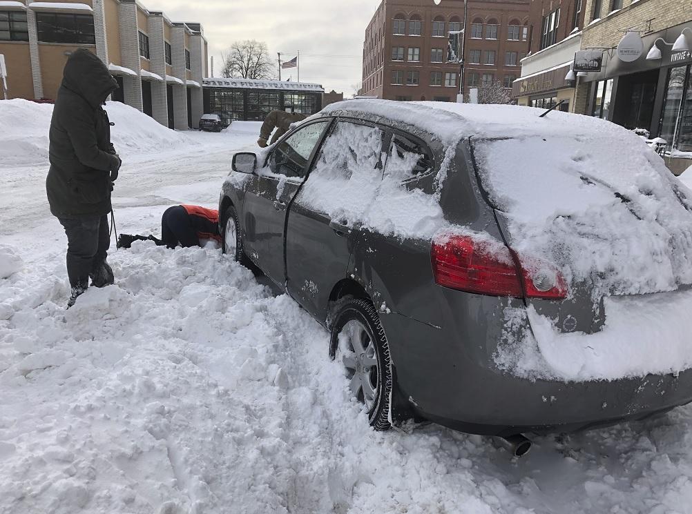 Fotos: Tormenta invernal causa destrozos en EEUU