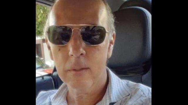 """Foto: """"Lord mantenimiento"""" fue identificado como Ricardo López Hidalgo Preciado."""