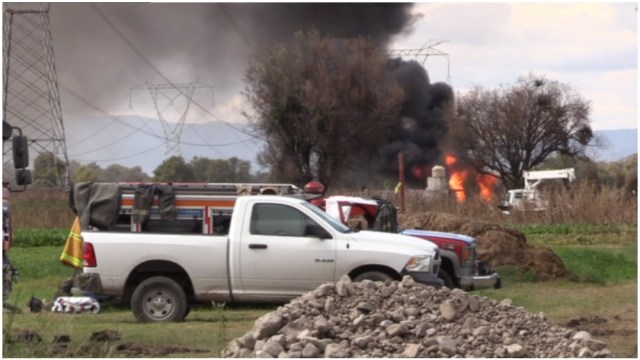 Foto: Trabajan en el control de fuga de gas en Tepeaca, Puebla, 29 de diciembre de 2019 (Foro TV)