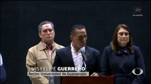Foto: Gobernador Rector Guanajuato Ofrecen Disculpas Públicas 9 Diciembre 2019