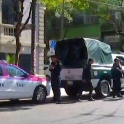 Hombre baleado en la alcaldía Cuauhtémoc