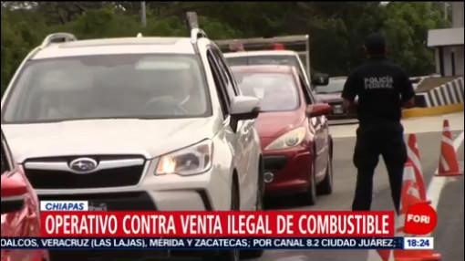 FOTO: 21 diciembre 2019, implementan operativo contra huachicoleo en chiapas