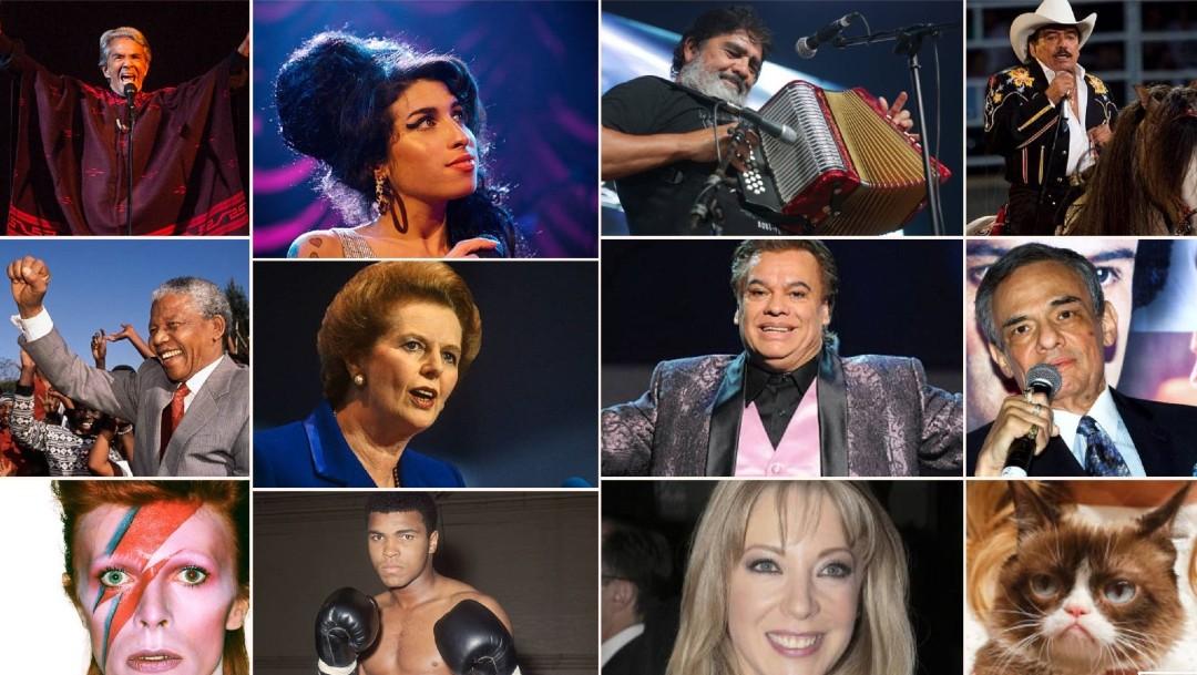 In Memoriam. Las muertes de famosos durante 2010 -2019. (Agencias)