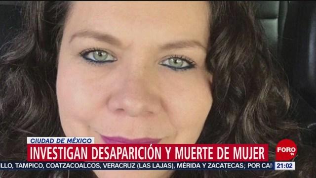 Foto: Feminicidio Ana Isabel Desapareció Cuajimalpa Cdmx 5 Diciembre 2019