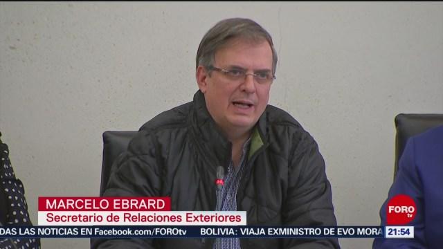 FOTO: Jesús Seade y Marcelo Ebrard acuden al Senado por el T-MEC, 8 diciembre 2019