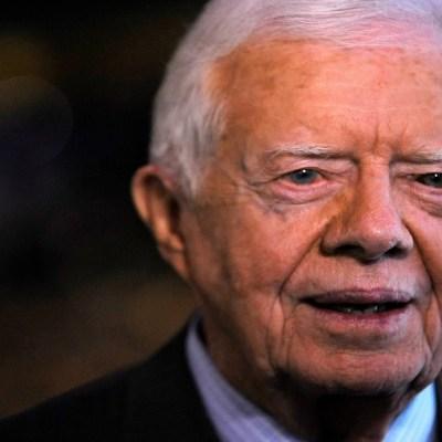 FOTO: Jimmy Carter, expresidente de EE.UU., hospitalizado por infección urinaria