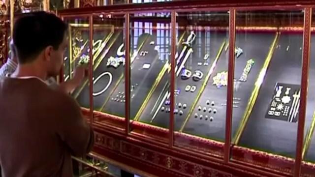 FOTO Ofrecen millones de euros a ladrones para que devuelvan tesoro de Bóveda Verde (Reuters/archivo)