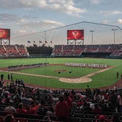 Estadio de los Diablos Rojos de México. BEISBOL