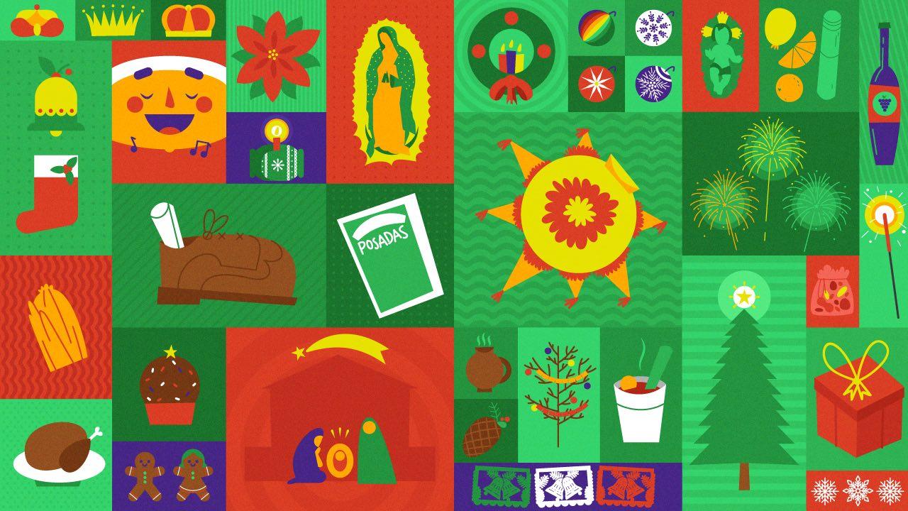 Foto Celebrar Navidad México 20 Diciembre 2019