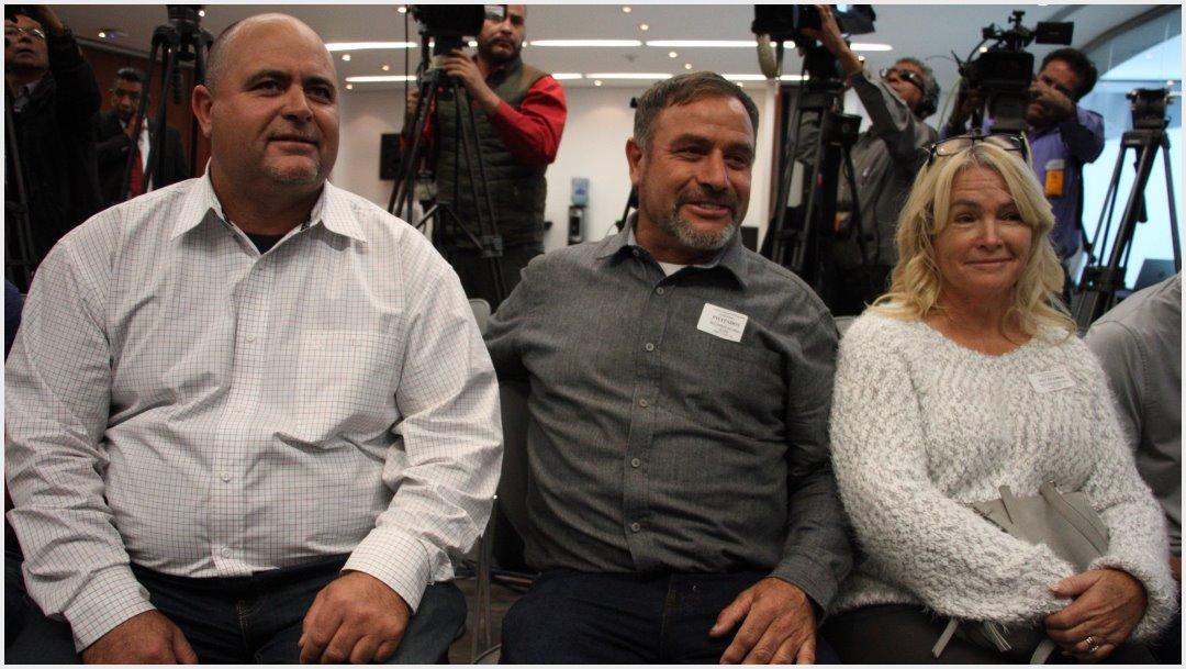 Foto: Integrantes de los LeBarón le piden justicia al Senado, 3 de diciembre de 2019 (ANDREA MURCIA /CUARTOSCURO.COM)