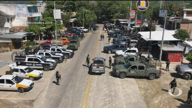 Foto: Liberan Integrantes Guardia Nacional Retenidos Tecoanapa 9 Diciembre 2019