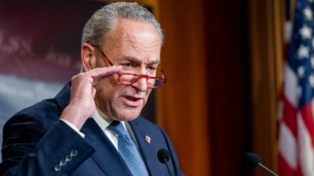 FOTO: Líder demócrata en el Senado pide aceptar pruebas para impeachment, el 23 de diciembre de 2019