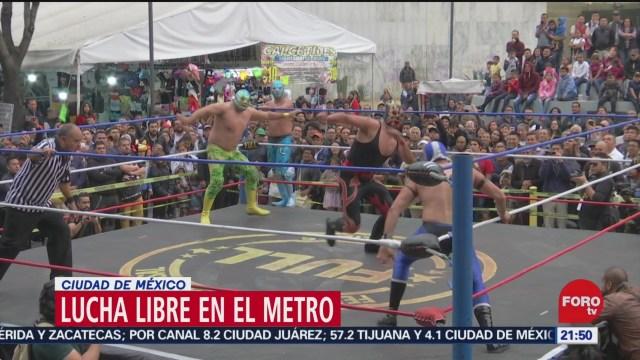 Foto: Lucha Libre Llega Glorieta Insurgentes 20 Diciembre 2019